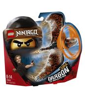 KLOCKI LEGO NINJAGO COLE — SMOCZY MISTRZ 70645