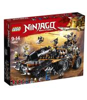 KLOCKI LEGO NINJAGO DIESELNAUTA 70654