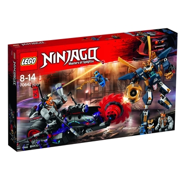KLOCKI LEGO NINJAGO KILLOW KONTRA SAMURAJ X 70642