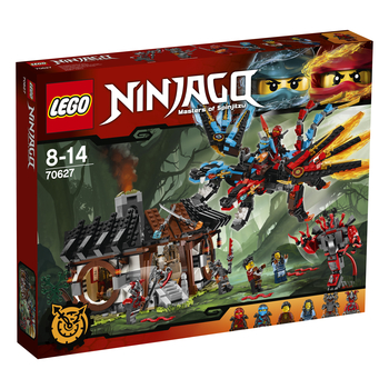 KLOCKI LEGO NINJAGO KUŹNIA SMOKA 70627