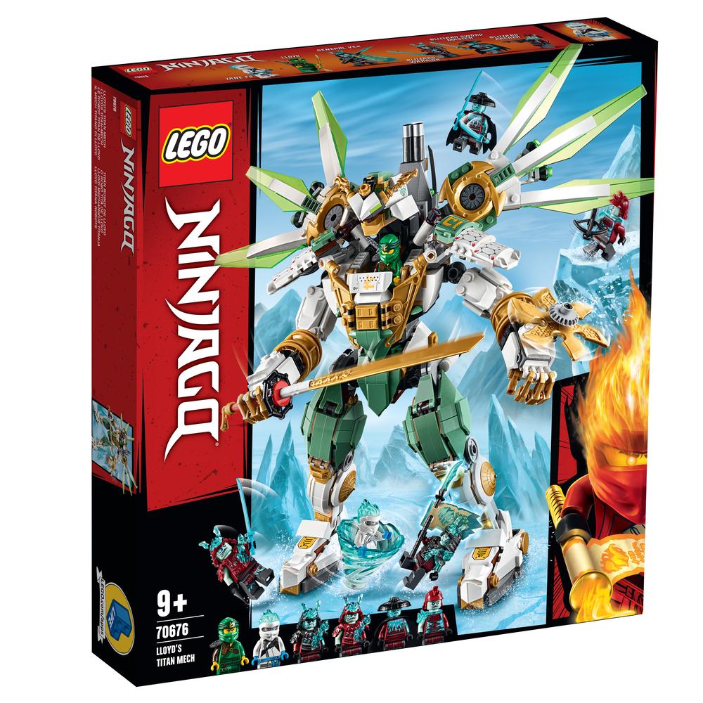 KLOCKI LEGO NINJAGO MECHANICZNY TYTAN LLOYDA 70676
