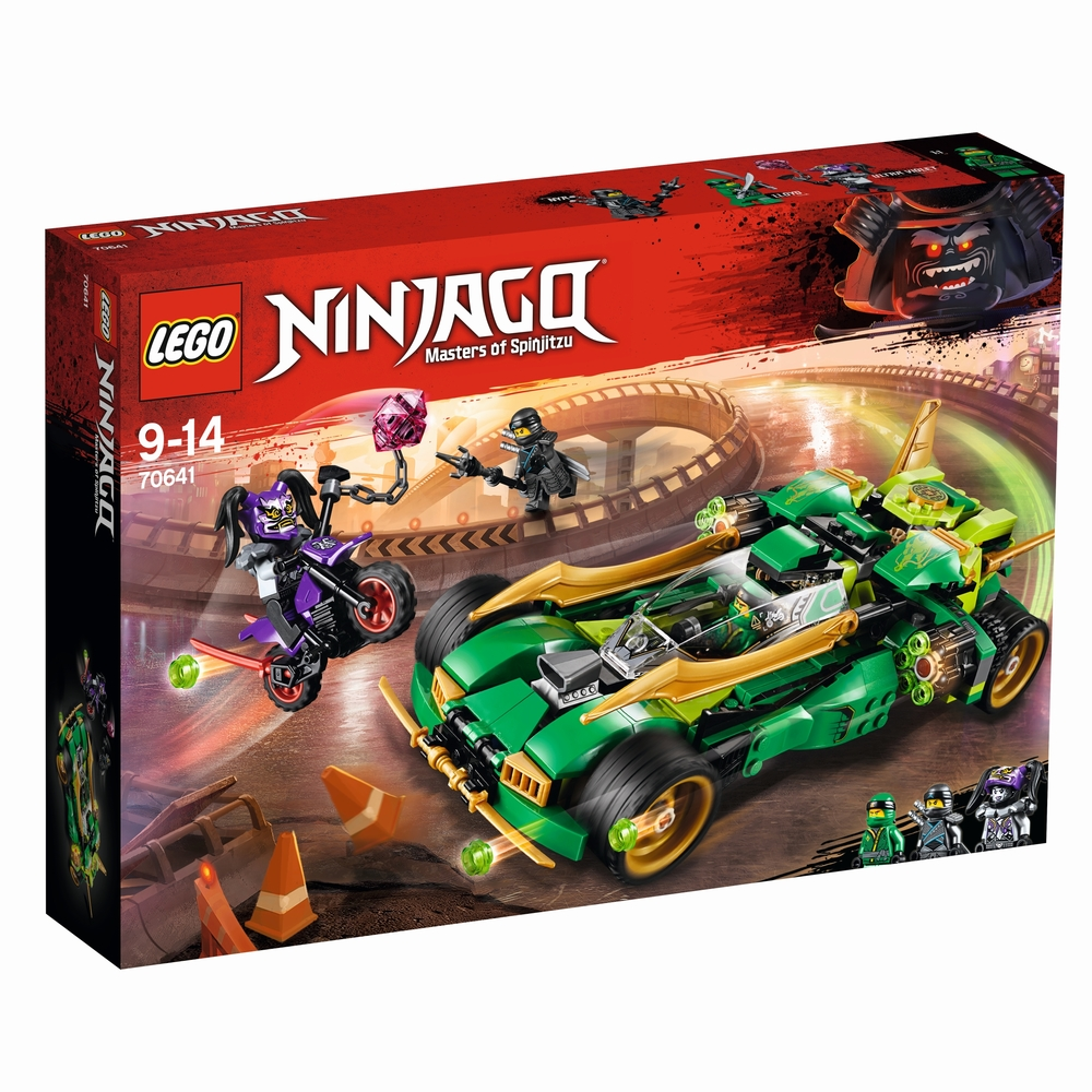 KLOCKI LEGO NINJAGO NOCNA ZJAWA NINJA 70641