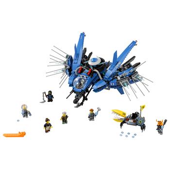KLOCKI LEGO NINJAGO ODRZUTOWIEC BŁYSKAWICA 70614