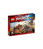 KLOCKI LEGO NINJAGO POŚCIG NA MOTOCYKLU 70600