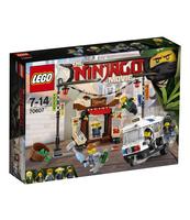 KLOCKI LEGO NINJAGO POŚCIG W NINJAGO® CITY 70607