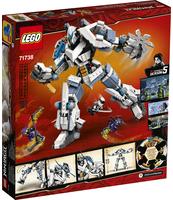 KLOCKI LEGO NINJAGO STARCIE TYTANÓW MECH 71738
