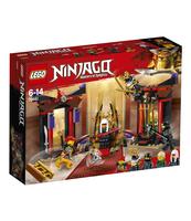 KLOCKI LEGO NINJAGO STARCIE W SALI TRONOWEJ 70651