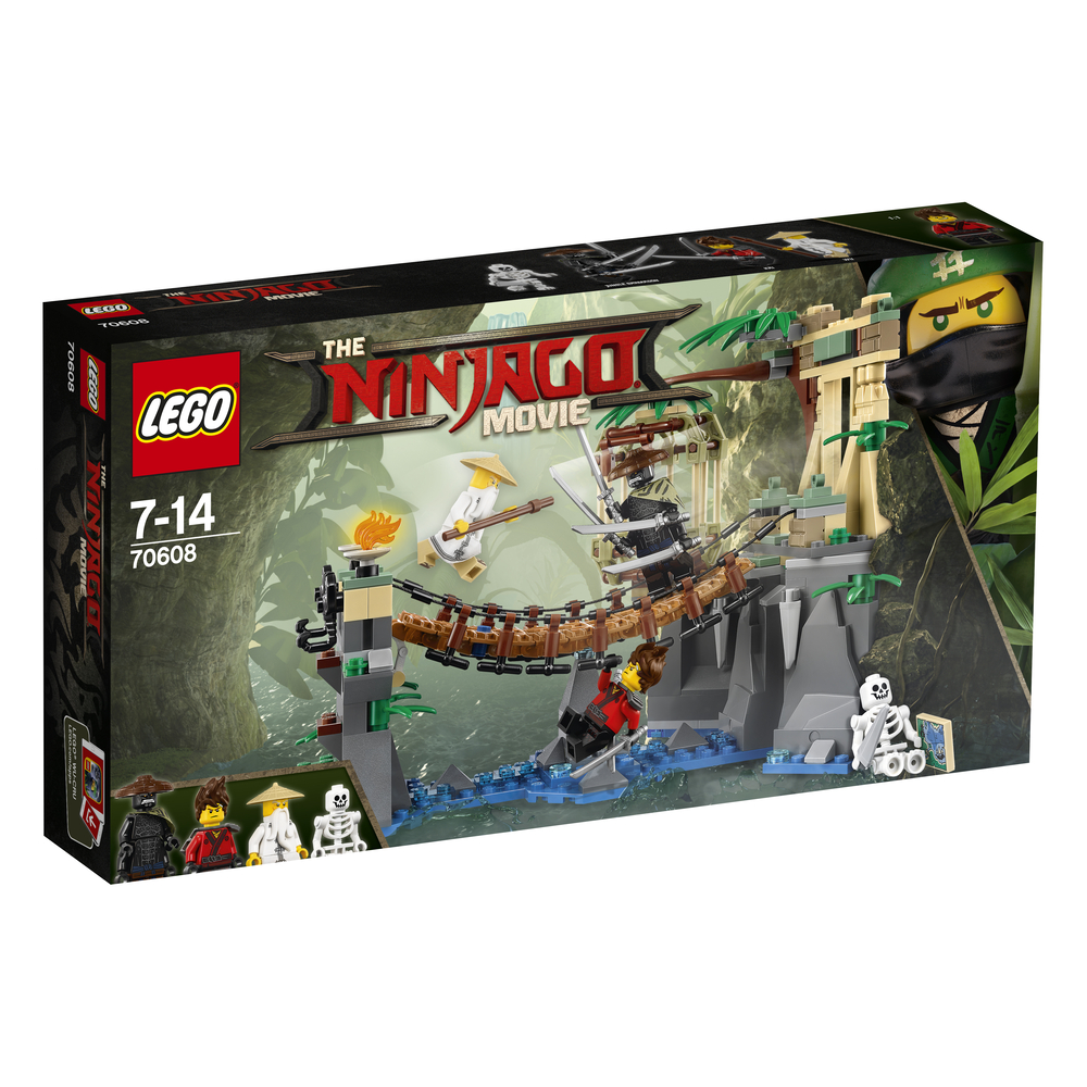 KLOCKI LEGO NINJAGO UPADEK MISTRZA 70608