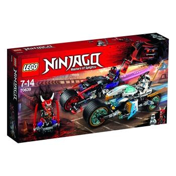 KLOCKI LEGO NINJAGO WYŚCIG ULICZNY WĘŻOWEGO JAGUARA 70639