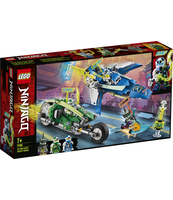 KLOCKI LEGO NINJAGO WYŚCIGÓWKI JAYA I LLOYDA 71709