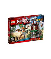 KLOCKI LEGO NINJAGO WYSPA TYGRYSIEJ WDOWY 70604