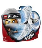 KLOCKI LEGO NINJAGO ZANE — SMOCZY MISTRZ 70648