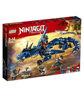 KLOCKI LEGO NINJAGO ZWIASTUN BURZY 70652