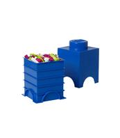 POJEMNIK KLOCEK LEGO® BRICK 1 (NIEBIESKI)