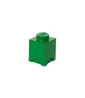 POJEMNIK KLOCEK LEGO® BRICK 1 (ZIELONY)