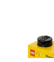 POJEMNIK KLOCEK LEGO® BRICK 2 (CZARNY)