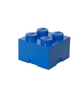 POJEMNIK KLOCEK LEGO® BRICK 4 (NIEBIESKI)