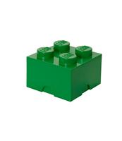 POJEMNIK KLOCEK LEGO® BRICK 4 (ZIELONY)
