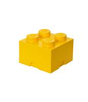 POJEMNIK KLOCEK LEGO® BRICK 4 (ŻÓŁTY)
