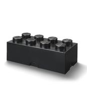 POJEMNIK KLOCEK LEGO® BRICK 8 (CZARNY)