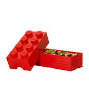 POJEMNIK KLOCEK LEGO® BRICK 8 (CZERWONY)