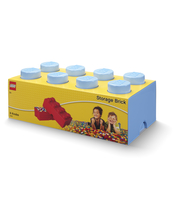 POJEMNIK KLOCEK LEGO® BRICK 8 (JASNONIEBIESKI)