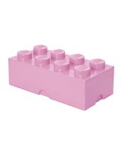 POJEMNIK KLOCEK LEGO® BRICK 8 (JASNORÓŻOWY )