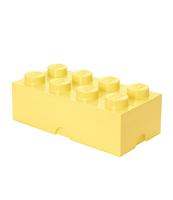 POJEMNIK KLOCEK LEGO® BRICK 8 (JASNOŻÓŁTY)