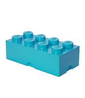 POJEMNIK KLOCEK LEGO® BRICK 8 (LAZUROWY)