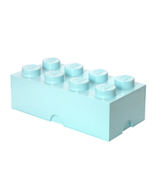 POJEMNIK KLOCEK LEGO® BRICK 8 (MORSKI)