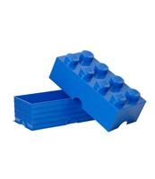 POJEMNIK KLOCEK LEGO® BRICK 8 (NIEBIESKI)