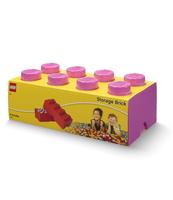 POJEMNIK KLOCEK LEGO® BRICK 8 (RÓŻOWY)