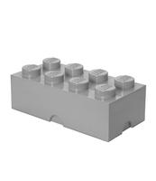 POJEMNIK KLOCEK LEGO® BRICK 8 (SZARY)