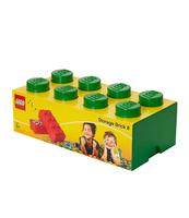 POJEMNIK KLOCEK LEGO® BRICK 8 (ZIELONY)