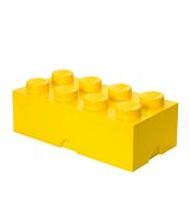 POJEMNIK KLOCEK LEGO® BRICK 8 (ŻÓŁTY)