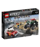 KLOCKI LEGO SPEED CHAMPIONS 1967 MINI COOPER S RALLY ORAZ 2018 MINI JOHN COOPER WORKS BUGGY 75894