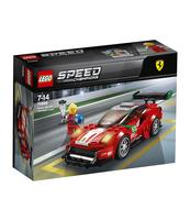 "KLOCKI LEGO SPEED CHAMPIONS FERRARI 488 GT3 ""SCUDERIA CORSA"" 75886"