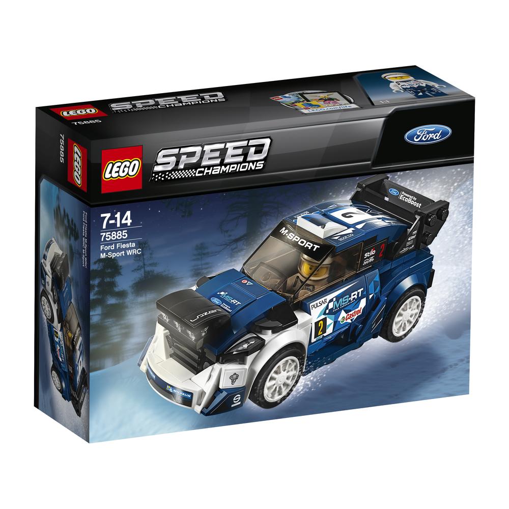 KLOCKI LEGO SPEED CHAMPIONS 'FORD FIESTA M-SPORT WRC 75885