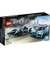 KLOCKI LEGO SPEED CHAMPIONS FORMULA E PANASONIC JAGUAR RACING GEN2 CAR I JAGUAR I-PACE ETROPHY 76898
