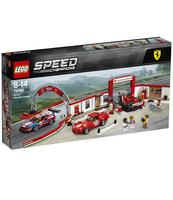 KLOCKI LEGO SPEED CHAMPIONS REWELACYJNY WARSZTAT FERRARI 75889