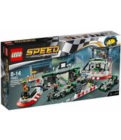 KLOCKI LEGO SPEED CHAMPIONS ZESPÓŁ FORMUŁY 1 MERCEDES AMG PETRONAS 75883