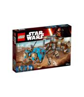 KLOCKI LEGO STAR WARS SPOTKANIE NA JAKKU 75148