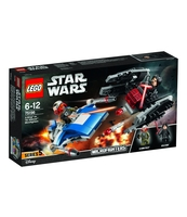 KLOCKI LEGO STAR WARS A-WING™ VS. TIE SILENCER™ MICROFIGHTERS 75196