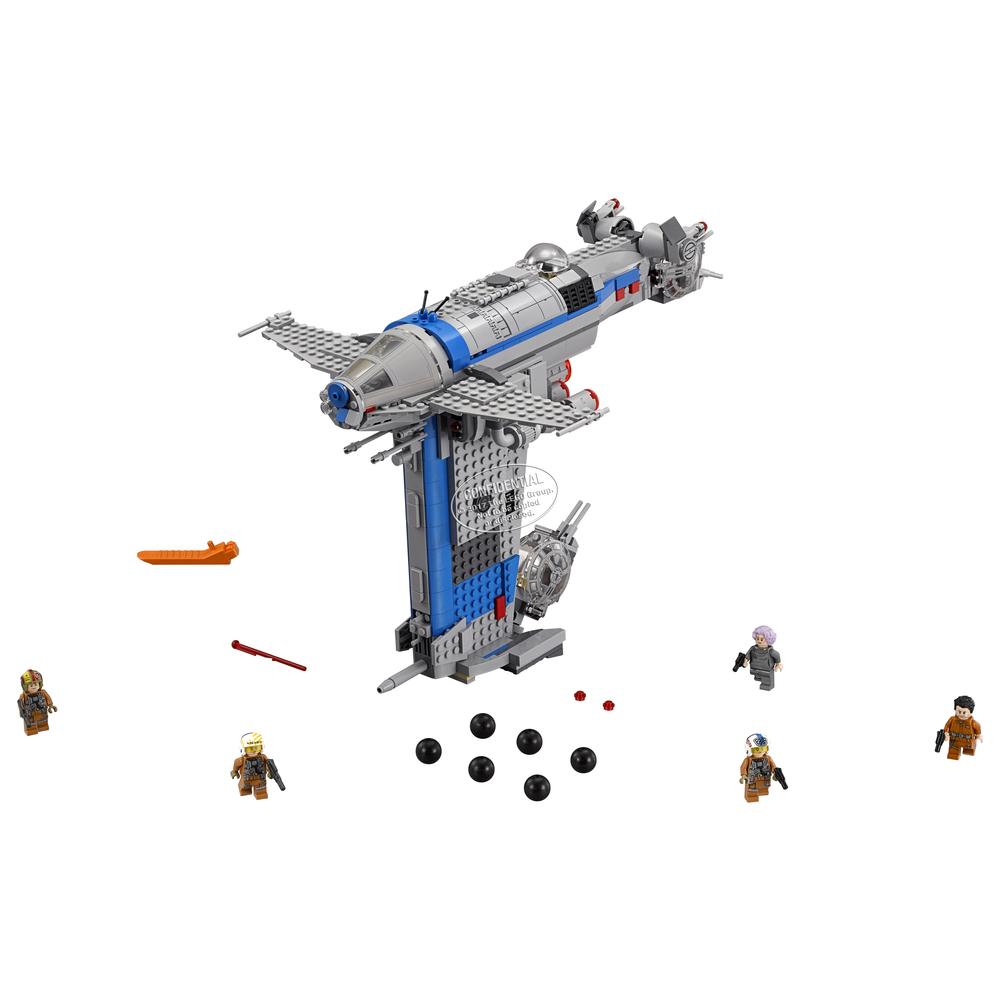 KLOCKI LEGO STAR WARS BOMBOWIEC RUCHU OPORU 75188