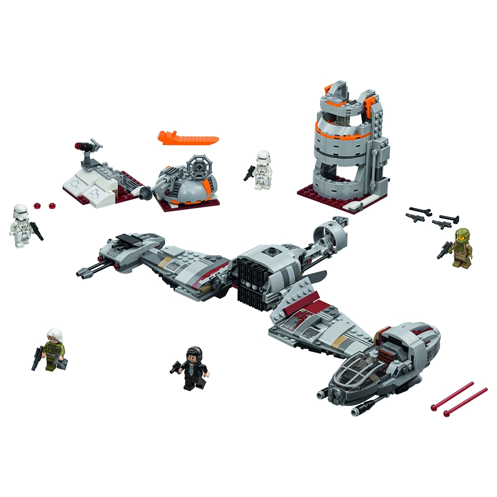 KLOCKI LEGO STAR WARS 'CONF CARVER WITH WHITE PLANET TRENCH 75202