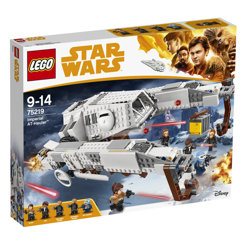 KLOCKI LEGO STAR WARS IMPERIALNY AT-HAULER™ 75219