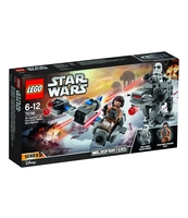 KLOCKI LEGO STAR WARS SKI SPEEDER™ VS. FIRST ORDER WALKER™ MIC 75195