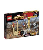 KLOCKI LEGO SUPER HEROES ATAK RHINO I SANDMANA 76037