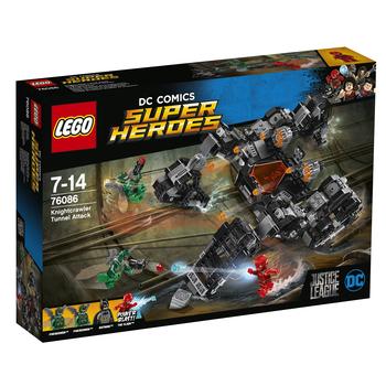 KLOCKI LEGO SUPER HEROES ATAK KNIGHTCRAWLERA W TUNELU 76086