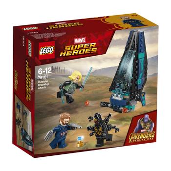 KLOCKI LEGO SUPER HEROES ATAK STATKU OUTRIDERÓW 76101
